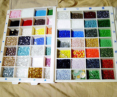 Seed Bead Boxes