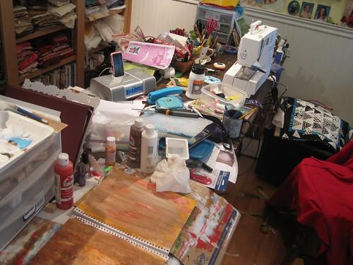 a creative mess!