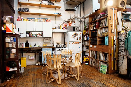 The Selby, Interior, Tom Sachs