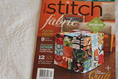 Stitch, Fall 2010