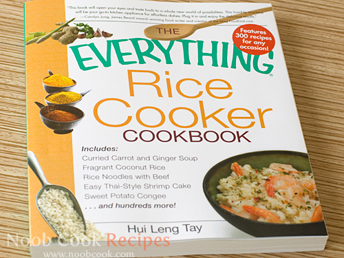 panasonic rice cooker recipe book pdf