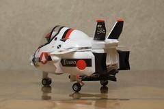 たまごひこーき VF-1A うしろ(アップ)