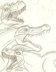 Pink Dinosaur Sketchbook 10.6.10 sketch