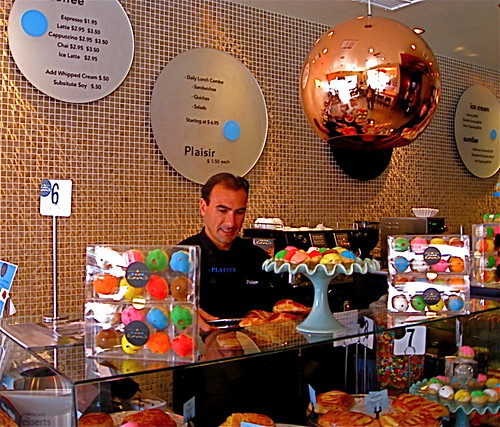 Chef Philippe with display