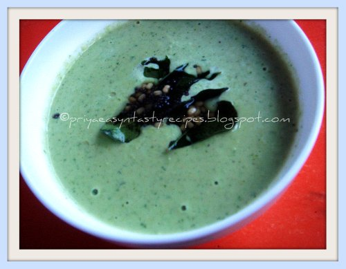 Parsley Coconut Chutney