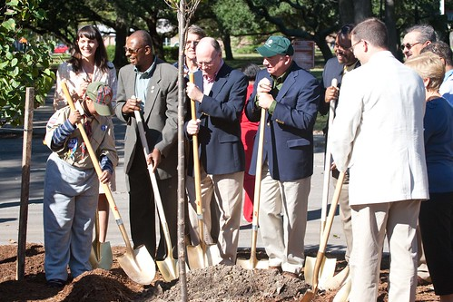 JASE supports the City of Norfolk's Annual Arbor Day Tree Planting