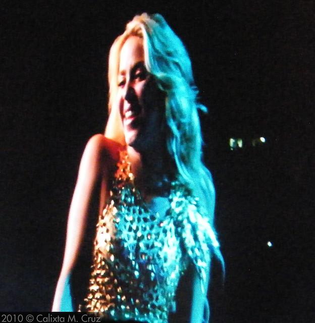 Shakira Madison Square Garden by Blind Phoenix