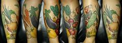 salada (taiom) Tags: tattoo pimentão tomate cozinha sal cebola alho tatuagem pimenta azeite berinjela cenoura huummm abrobrinha