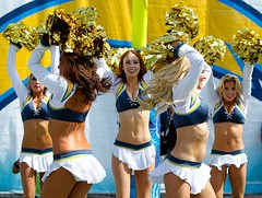 Charger Girls (San Diego Chargers) Tags: girls dance sandiego nfl cardinals chargers chargergirls cherleaders