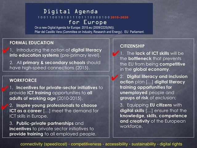 EU digital agenda 2020