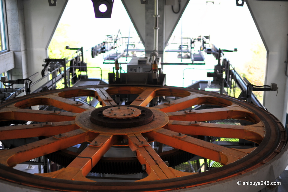 The big wheel that keeps everything running properly