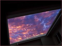 Atrium Sunset (DagsDownunder) Tags: sunset australia olympus atrium tropics e30 townsville northqueensland cloudage justclouds