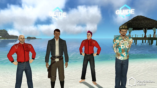 Home Community Volunteers in PlayStation Home