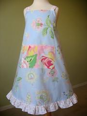 Anna dress w/ PB sheets