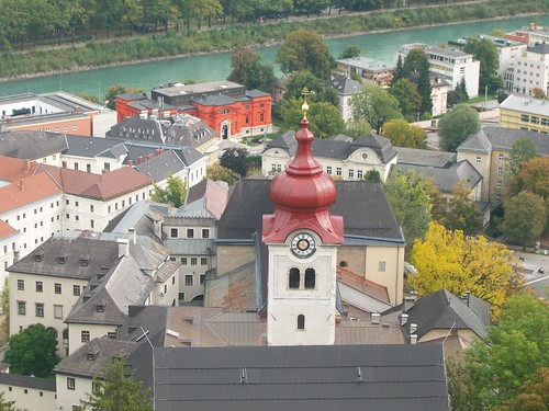 0629 - View from Hohensalzburg Castle - Nonberg Abbey