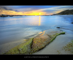 Green Pools, William Bay National Park, Western Australia :: HDR (Artie | Photography :: I'm a lazy boy :)) Tags: sunset sea seascape beach water photoshop canon denmark landscapes sand rocks ripple tripod wave australia wideangle perth ef 1740mm westernaustralia hdr artie cs3 3xp f4l photomatix algaes tonemapping tonemap williambay williambaynationalpark greenpools 5dmarkii 5dm2
