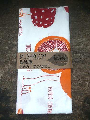 mushroom folded
