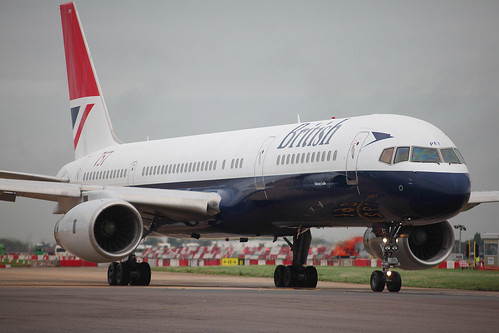British Airways 757 Retro
