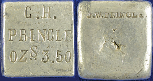 J.W. Pringle Silver Ingot