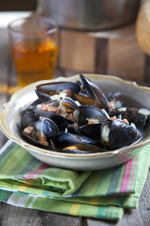 :: Mussels in Irish Cider