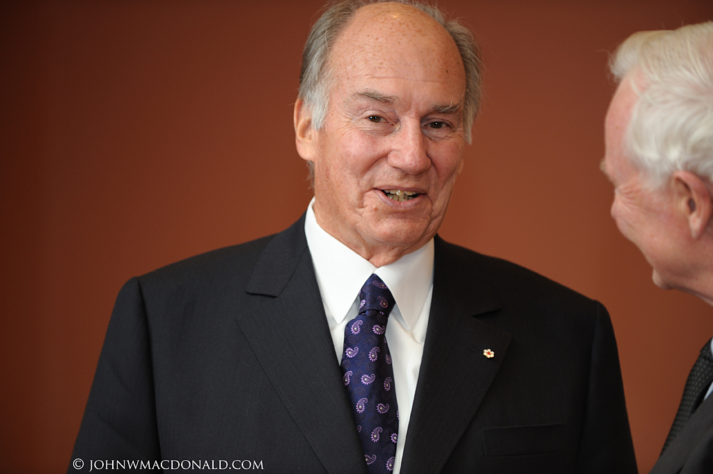 Governor General Welcomes His Highness the Aga Khan at Rideau Hall 6195