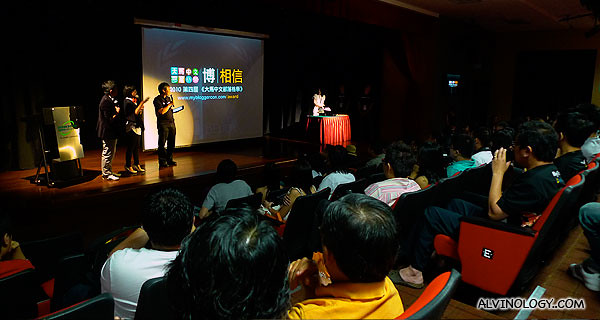 The theme for this year's Mybloggercon was 相信 (Believe)