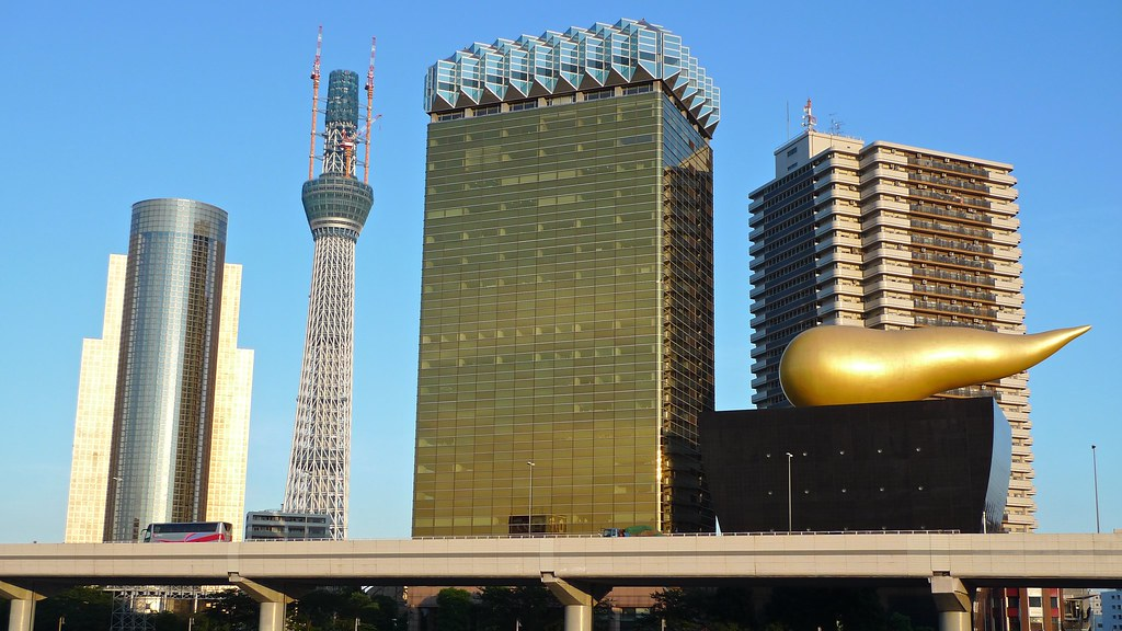 Tokyo Sky Tree & Asahi Beer Hall