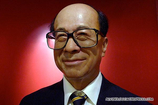 World's richest Chinese, Sir Li Ka-Shing (李嘉诚)