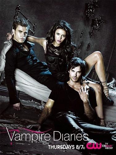 vampire diaries season 2 poster. The-Vampire-Diaries-Season-2-