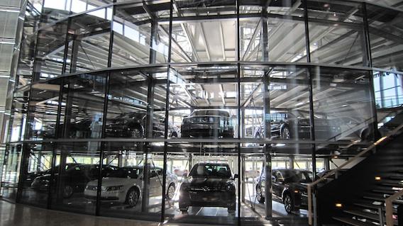 Volkswagen Transparent Factory in Dresden