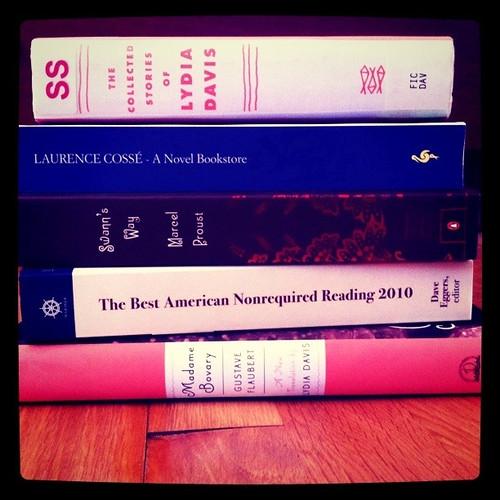 Post readathon books.