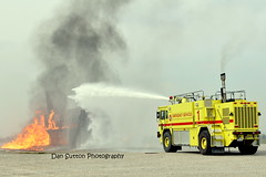 A Big Water Gun on Wheels...Emergency Servives style! (Dan Sutton) Tags: hot training plane fire aircraft flames heat festi emergencyservices hotenoughtomeltyourcameraunlessitsanikon