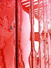 Red rain (Indie Pop) Tags: red water rain blood paint digitalcameraclub
