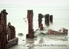 Crow Point 2 (Michael Elton) Tags: sea brick water devon groin barnstaple appledore braunton