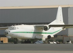 Santa Cruz Imperial Airways  Antonov AN8  EL-AKZ (Flame1958) Tags: 2004 uae sharjah unitedarabemirates 1104 shj an8 241104 antonov russiantransport antonovan8 santacruzimperial elakz soviettransport