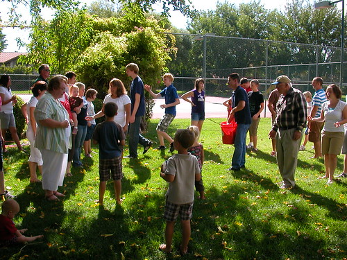 Oct 2 2010 water balloon toss