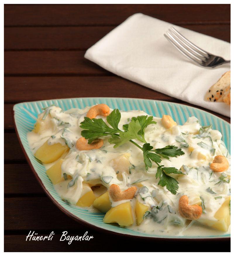 Sezar Soslu Patates Salatası