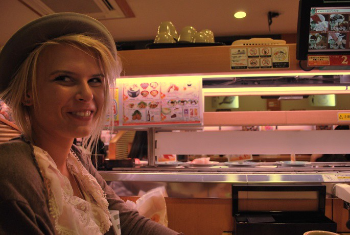 Kyoto sushibar, Eleanor
