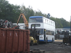 Carlton, Barnsley (Andrew Stopford) Tags: carlton stagecoach leyland barnsley londontransport olympian ecw selkent trevorwigley teesvalleycoachtravel excelpassengerlogistics freedomtravel c122chm on2394