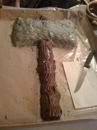axe cake