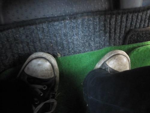 Schuhe, Grün, Teppich