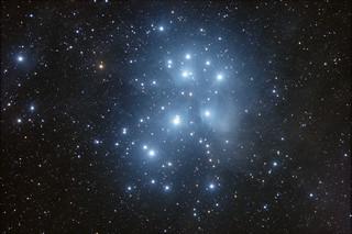 M45 Pleiades Cluster in Taurus #1