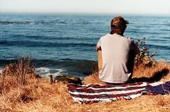 (Maddie Joyce) Tags: ocean california road trip camping sea cliff bus film boyfriend vw 35mm canon eos maddie big couple surf view trevor magic adventure gordon joyce sur traveling vanagon wwwthemagicbuscollectivecom