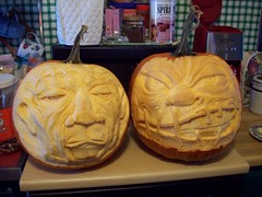 011 (Chad Maybray) Tags: halloween pumpkin carvings