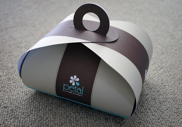 Petal Cupcakes Box