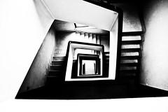 Deeply inside (Stefano Mazzoni) Tags: blackandwhite bw scale contrast nikon abstractart bn ladder infinito biancoenero arteastratta stefanomazzoni