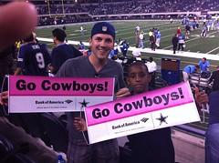 Bret and Roderick's team spirit!