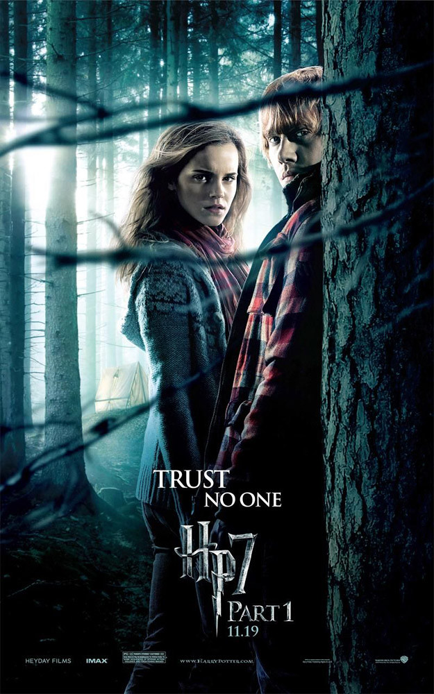 Harry Potter and the Deathly Hallows Part 1 Emma Watson Rupert Grint