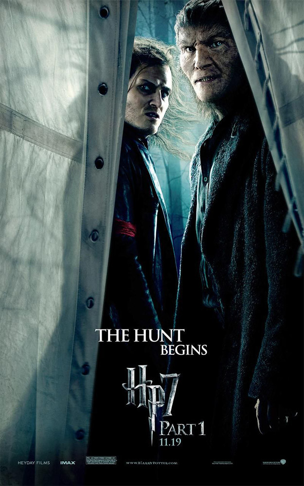 Harry Potter and the Deathly Hallows Part 1 Greyback poster