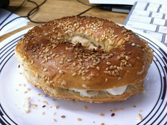 Montreal Bagel from St Viateur